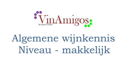 Wijnkennis - makkelijk